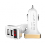 HR0603 Quick Car Charger 2 USB Ports 5V 2.4A