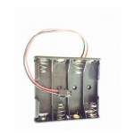 HS0639 4xAA battery holder with JST contor
