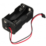 HS0641 2 layer 6.0V 4xAA Battery Holder with Futaba Plug