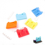 HS0818 Micro:bit Silicone Case Cute Pattern for DIY Smart Robot Car