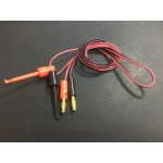 HR0293-31  Banana Plug To Test Hook Clip Probe