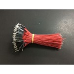 HS0987 10cm Dupont Wire Male single head 200pcs/pack Red