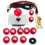 HS1050 DIY Arcade Game Controller USB Joystick Kit-Red