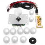HS1052 DIY Arcade Game Controller USB Joystick Kit-white