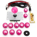 HS1053 DIY Arcade Game Controller USB Joystick Kit-Pink