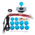 HS1054 DIY Arcade Game Controller USB Joystick Kit-Blue