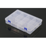 HS1123 Big size 10 Slots Plastic box Adjustable Storage Box 30*20*6cm