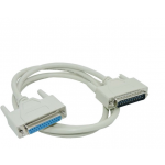 HS1198 25Pin-DB25 Parallel Male to Female computer connect cable 1.5M