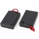 HR0295B 9v Battery Holder With On/Off Power Switch