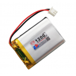 HS1364 3.7V 1200mAh battery 51*34*6mm with PH2.0 connector