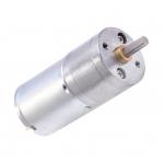 HS0112 12v JGA25-370 DC speed reduction motor