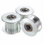 HR0712 GT2-6/GT2-10 16/20 Tooth Aluminum Timing Drive H Pulley