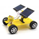 HS1522 STEM Education Kits #39 DIY Mini  Dual Solar Panel Powered Toy Car