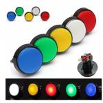 HS2176 Arcade Button 5 Colors LED Light Lamp 60MM