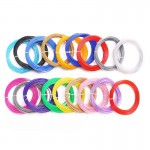 HR0345 3D Printer Filament PLA 1.75mm, 10m per roll ,12 color in one bag rainbow package