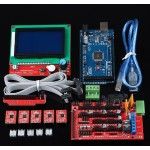 HR10 3D printer kit with 12864 LCD control panel