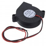 HR0640 12V DC Cooling Fan 5015 for Electronic 3D Printer Parts ball bearing