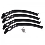 HR0689 Black Landing Skid Gear for F450 drone chassis