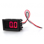 HR0352A 0.56inch 3 wires LED Mini Digital Voltmeter DC 0V To 99.9V Red/Green/Blue