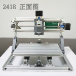 HR0534A 3 Axis CNC Router Wood Carving 2418 GRBL Control Milling Mini Engraving Machine