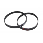 HR0711A GT2 Timing Belt Loop Rubber 6mm Width 2mm Pitch GT2-122MM