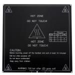 HR0716 3MM MK3 Aluminum Board PCB Heat Bed  214*214mm