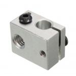 HR0749 Aluminum Heater Block Makerbot MK7 MK8 Print Head Hot End Heating Block 20*20*10mm