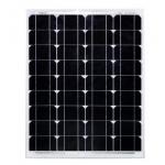 HS0058 50w 12V Monocrystal Solar Panel  63x54cm   MOQ 5PCS