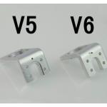 HS0114 3D printer accessories all metal hot end fixed aluminum fan bracket V5