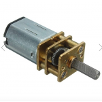 HR0244-2B 100RPM DC 6V Mini Metal Gear Motor With Gearwheel