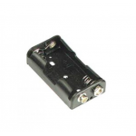 HS0184 Battery holder 2xAA with clip 1.5v