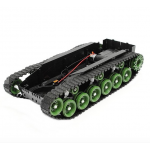 HS0312 3V-9V DIY Shock Absorbed Smart Robot Tank Chassis Car Kit With 260 Motor For Arduino SCM