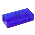 HS0434 clear Blue ABS Raspberry Pi Zero case with GPIO space
