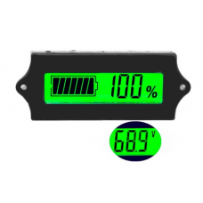 HS0477 12V LCD Acid Lead Lithium Battery Capacity Indicator GY-6