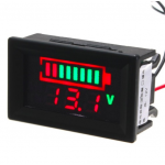 HS0489 12V Acid lead Battery indicator capacity digital LED Tester