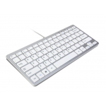 HR0384K Super Thin Mini Wired Keyboard