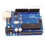 HR0300 UNO R3, with USB Cable, without Arduino Logo