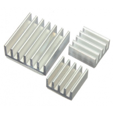 HR0309-46 3pcs Adhesive Aluminum Heatsink For Raspberry Pi