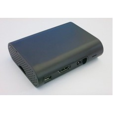 HR0309-47B ABS Case For Raspberry Pi Black