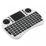 HR0309-34W Mini 2.4G Multi-functional Wireless Keyboard For Raspberry Pi white