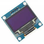 "HR0089 4pin New 128X64 OLED LCD LED Display Module 0.96"" I2C IIC Communicate-Blue Color"