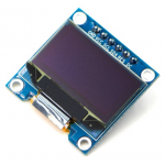 "HR0086 7pin New 128X64 OLED LCD LED Display Module 0.96"" I2C IIC SPI Communicate-Blue Color"