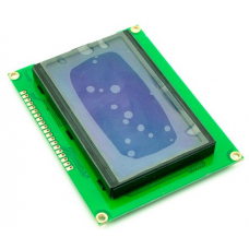 HR0078 12864 128*64 DOTS LCD module 5V blue screen