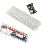 HR0179	830 Breadboard+Power Supply Module+140 Jumper Wire