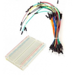 HR0254 400 point breadboard+65pc jumper wire