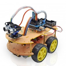 HR14 Multifunction Bluetooth Controlled Robot Smart Car Kits
