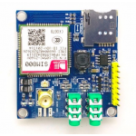 HR0214-35 SIM800 development board module GSM GPRS MMS, SMS, STM32With Antenna