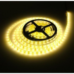 HR0281-10A Warm White 5M 500CM Waterproof 5050 SMD Flexible LED Strip Lights 300 leds 12V