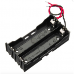 HR0309-19  2x 18650 Battery holder without  DC connector
