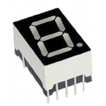 HR0262 0.5inch 1 7-Segments Display  common cathode 5101AS